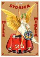 XXV 1000 Miglia Brescia Ferrara Roma - Automobile Alfa Romeo CPM - Non Classificati