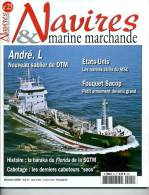 "Navires & Marine Marchande N°25 -  ""Cie Fouquet-Sacop"" - Sommaire Complet En Annexe - Revues & Journaux"