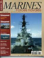 "Marines& Forces Navales N° 71 - ""Destroyer Mölders"" - Sommaire Complet En Annexe - Revues & Journaux"