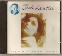 CD. Jack LANTIER. Les Plus Belles Chansons Françaises. - Hit-Compilations