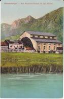 Old Postcard OBERAMMERGAU THEATRE BUILDING,  GERMANY,  Unused, Passion Play Religion - Theatre