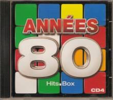 CD. ANNEES 80.RYAN PARIS, NACASH, PETER & SLOANE, KAREN CHERYL, LOVA MOOR, MARC TOESCA, KEN LASZLO, KOTO - Hit-Compilations