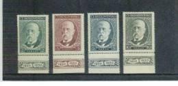 TSCHECHOSLOWAKEI , Czechoslovakia , 1930 , ** , MNH , Postfrisch , Mi.Nr. 299 - 302 Mit Anhängsel 1830 - 1930 - Nuovi