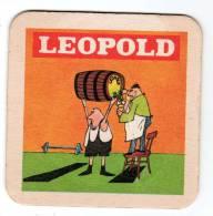 Belgique Leopold Thème Sport Humour - Sous-bocks