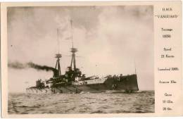 H.M.S. VANGUARD - Guerre