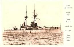 H.M.S. ST. VINCENT - Guerre