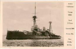 H.M.S. NEPTUNE - Guerre