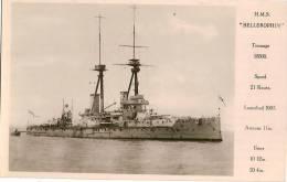 H.M.S. BELLEROPHIN - Guerre