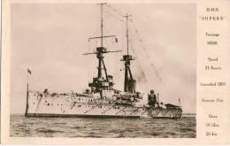 H.M.S. SUPERB - Guerre