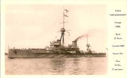 H.M.S.  DREADNOUGHT - Guerre