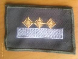 Parche Stabsfänrich. República Democrática Alemana. Comunista. 1948-1990. - Escudos En Tela