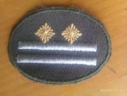 Parche Oberstleutnant. República Democrática Alemana. Comunista. 1948-1990. - Escudos En Tela