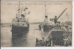 """CALAIS - Gare Maritime - Arrivée De La Malle """"Victoria"""" - A Quai, Le """"Pas De Calais"""" - Calais"""