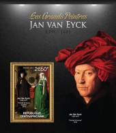 CENTRAL AFRICA 2013 ** BL S/S 1v Paintings Gemälde Jan Van Eyck A05 - Art