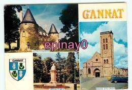 Br - 03 - GANNAT - Multivues - édit. Combier - - France