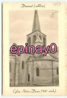 B - 03 - DOMERAT - église Notre Dame - - France