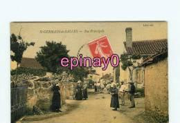 Bf - 03 - SAINT GERMAIN DE SALLES - Rue Principale  - édit. Lefort - - France