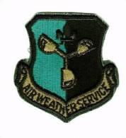 Parche Ejército Estados Unidos. Tiempo De Servicio En Aire. Años 70-90. - Escudos En Tela