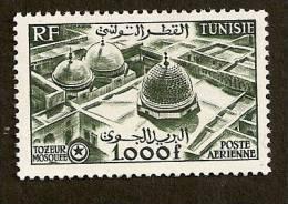 Tunisie PA   N°19 N* TB Cote 65 Euros !!! - Aéreo