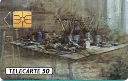 D564 - Galerie Georges Cheminots - Tableau De Jacque Ousson - N°B11798