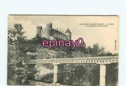 Br - 03 - SAINT BONNET De ROCHEFORT - Le Pont Et Le Chateau - édit. Bionnier - - France