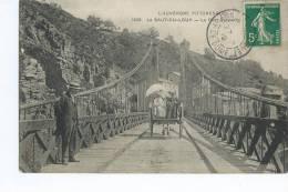 AUZAT La COMBELLE  ( 63 )  - LE  SAUT Du LOUP   -Le Pont Suspendu - Non Classés