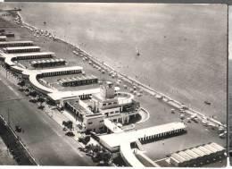 1955 OSTIA STABILIMENTO MEDITERRANEO FG V 2 SCANS ANIMATA - Roma