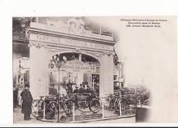 Carte 1905 Succursale 156 Avenue Malakoff Paris De La Fabrique National D´armes De Guerre D´Herstal (belgique) - Herstal
