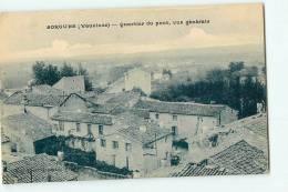 SORGUES - Quartier Du Pont , Vue Générale - Edit. Albert Journaux - 2 Scans - Sorgues