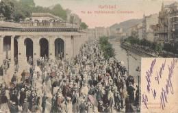 GERMANIA- KARLSBAD, An Der Muhlbrunnen- Colonnade BEN CONSERVATA 100% ORIGINALE D´ EPOCA - Boehmen Und Maehren