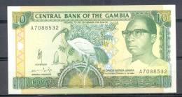 Gambia 10  Dalasis  UNC - Gambie