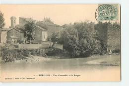 SORGUES -  Vue D' Ensemble Et La Sorgue - Précurseur -  Edition J. Brun Et Cie -  2 Scans - Sorgues