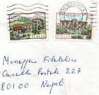 1985 Lettera CON ANNULLO BERGAMO - 1981-90: Storia Postale