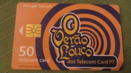 """Telefonkarte Der Portugal Telecom """"O Verao Louco""""  50 Units, 2000 - Portugal"""