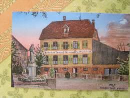 HOHATZENHEIM  RESTAURANTXAVIER BURGRITTER  DESSIN - Andere Gemeenten