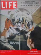 Magazine LIFE - JUNE 24 , 1957 - INTER. ED. -  Pub. COCA-COLA - FORD - MERCEDES - ROLEX - Canal PANAMA  (3053) - Nouvelles/ Affaires Courantes
