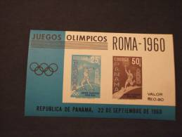 PANAMA - BF 1960 OLIMPIADI ROMA - NUOVI(++)-TEMATICHE - Panama