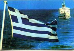 GRECIA GREECE CHIP OTE 100 UNITS THNOΣ TEMATICA BANDIERE NAVI FLAGS BOAT Télécarte Phonecard Telefonkarte Telefoonk - Grecia