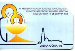 POLONIA TELEKOMUNIKACJA POLSKA TP KARTA TELEFONICZNA  KONGRES MARYJNY '96 Télécarte Phonecard Telefonkarte Telefoonk - Grecia