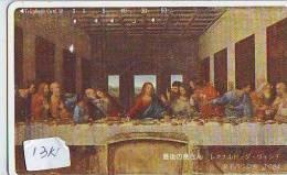 IL CENACOLO ( Italy ) * LAST SUPPER * Cène * Jesus Christ (1314) Leonardo Da Vinci Religion Peinture * 110-169124 - Pintura