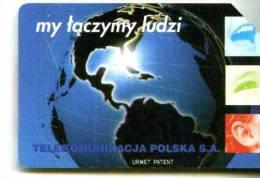 POLONIA TELEKOMUNIKACJA POLSKA TP KARTA TELEFONICZNA  MY TACZYMY LUDZI Télécarte Phonecard Telefonkart - Grecia