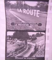 FILM Images Fixes LA ROUTE par LA PREVENTION ROUTIERE Ancien Documentaire noir & blanc