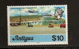 Antigua 1976 N° 414 Iso ** Courants, Avion, Aéroport, Tour De Controle, Fenwick, Pompier, Camion-Citerne, Voitures - Afrique Du Sud (1961-...)