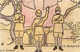 Aux Indes Le Serment - Postkaarten