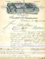 Dresden - 1902 - Seidel & Naumann - Compagnie De Wagons Lits - Belgique