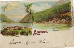 Achensee - Scholastika - Pertisan - Austria - Tegenlichtkaarten, Hold To Light