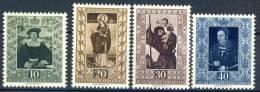 #C1779. Liechtenstein 1953. Paintings. Michel 311-14. MH(*) - Liechtenstein
