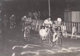 FOTOGRAFIA CICLISMO BICICLETTA-GARA CORSA CICLISTICA BERGAMO ORIGINALE 100% - Cycling
