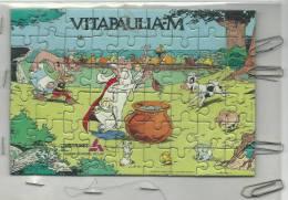 Puzzle :  Axtérix Le  Gaulois :  VITAPAULIA-M  De Chez  Distrivet   ( Env.  17  Par 12  Cm) - Other Collections