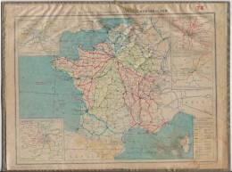 Almanach Des Postes 1933 Saone Et Loire - Calendriers